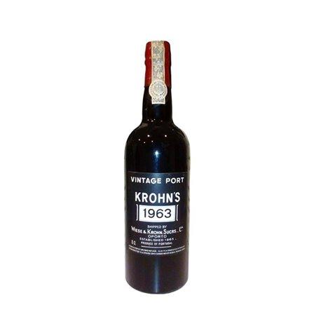 Vinho do Porto Krohn Vintage 1963