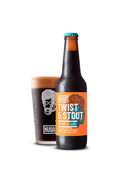 Cerveja Artesanal Musa Twist and Stout