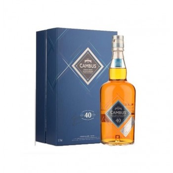 Whisky Cambus 40 Anos...