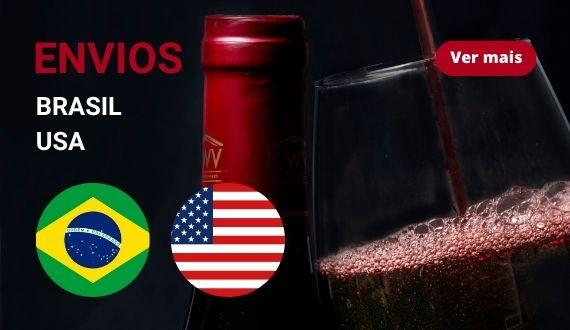 Envios Brasil e USA